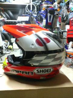 代表ヘルメット完成