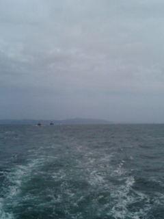 三宅島から出航