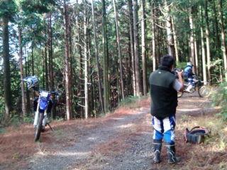 林道ツーリング