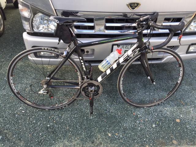 自転車トレーニング?